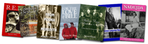 covers of memoir books, personal histories, ghostwritten biographies
